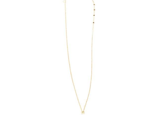 Djula Necklaces Pink Pink gold  ref.77657