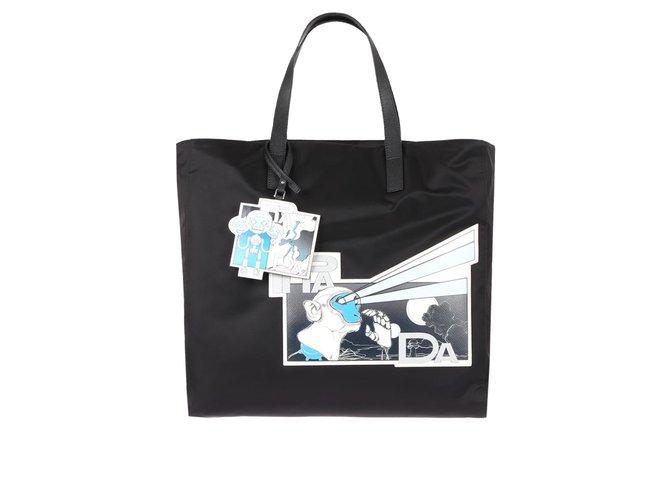 35ebcf5f8d6c Prada Handbag Bags Briefcases Nylon Black ref.77994 - Joli Closet