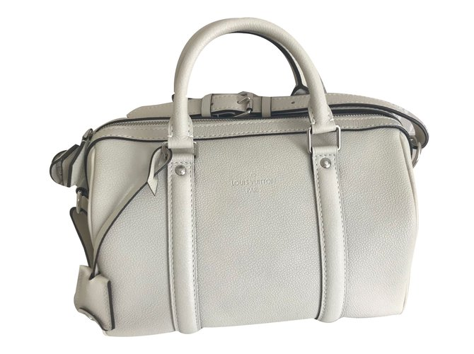 ebc855d24b2 Louis Vuitton Sofia Coppola BB Handbags Leather Cream ref.78194 ...