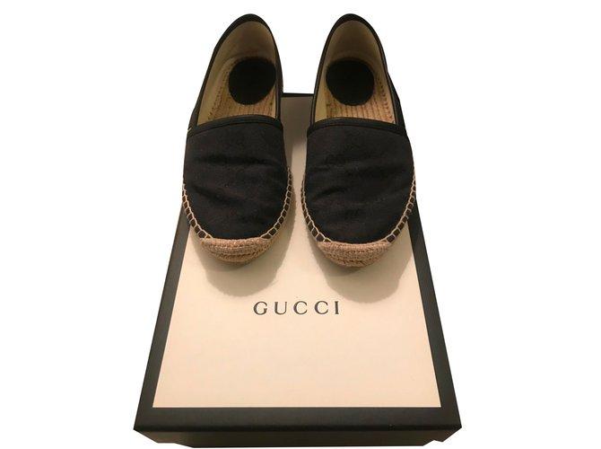 d5518bce63e Gucci Espadrilles Espadrilles Leather