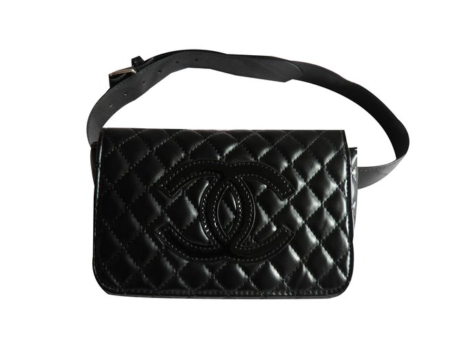 01011f78c4c4 Chanel Clutch bags VIP gifts Other Black ref.78623 - Joli Closet