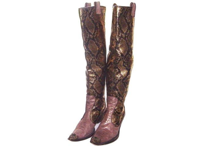 Giuseppe Zanotti Boots Boots Python Python print ref.78837 - Joli Closet d5d050aac924
