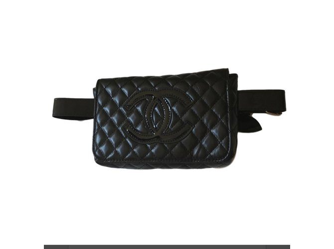 aee2e06344bf Chanel Clutch bags VIP gifts Other Black ref.78925 - Joli Closet