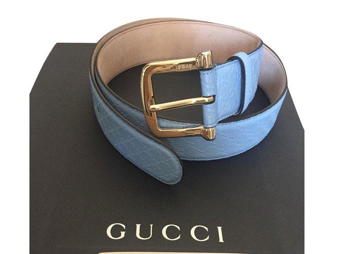 4ea6833182d Ceintures Gucci Ceinture Cuir Autre ref.79007 - Joli Closet