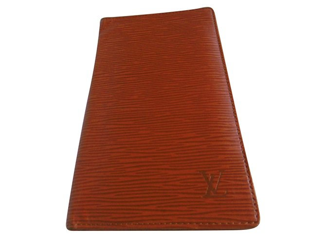 dea6b6f431ab Louis Vuitton Long Bifold Wallet Misc Patent leather Brown ref.79014 ...