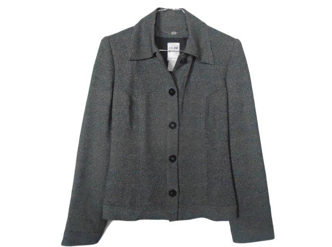 Céline Jackets Jackets Wool Black ref.79185
