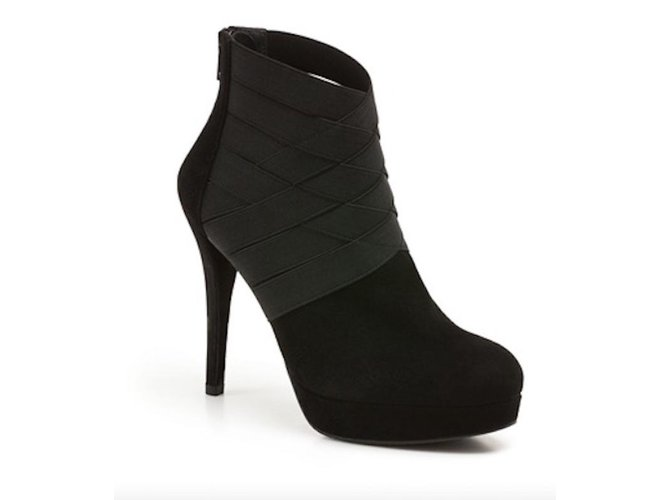 26bf79aaaa9d Stuart Weitzman Ankle boots Ankle Boots Suede Black ref.79255 - Joli ...