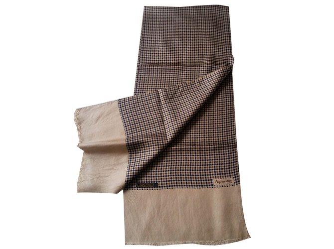 Aquascutum Men Scarves Men Scarves Silk Multiple colors ref.79270