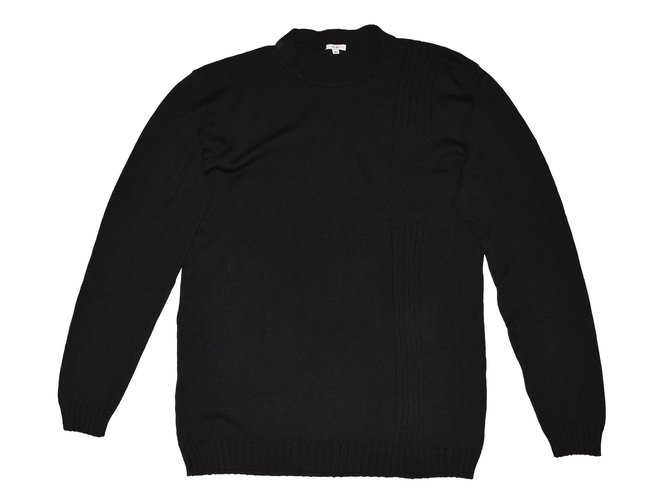 Pulls, gilets homme Versace Pulls, gilets homme Coton,Laine Noir ref.79352 a6dca1d455c