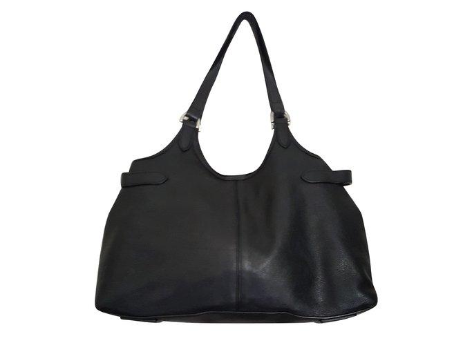 Mulberry Handbags Handbags Leather Black ref.79459 - Joli Closet d8a79f08ce9b8