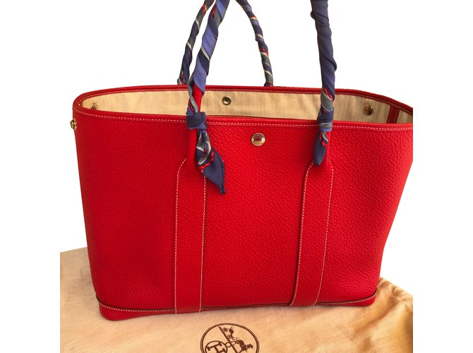 Hermès, garden party. 2,450€. Add to my wishlist. Hermes garden party bag 36  cm. Negonda red leather ... 73669c4cda