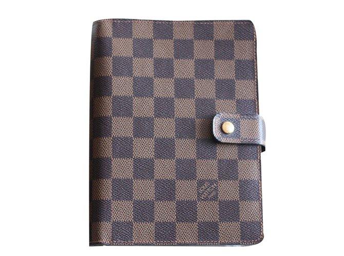34b71d9139c Louis Vuitton Wallets Small accessories Wallets Small accessories Leather  Brown ref.79582