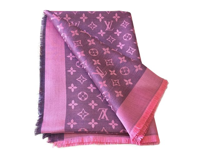Foulards Louis Vuitton Foulards Laine Autre ref.79683