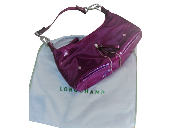 Violet Ref Main À Mnv0n8wo 79828 Longchamp Vernis Sacs Cuir 8n0wPXOk