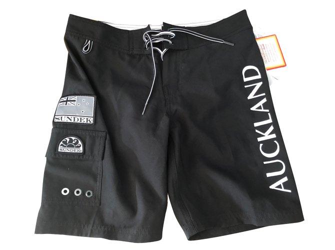 Autre Marque Boy Shorts Boy Shorts Polyester Black,White ref.79904