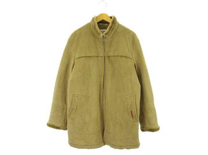 Autre Marque Kansai Yamamoto Homme Faux Shearling Coat Men Coats
