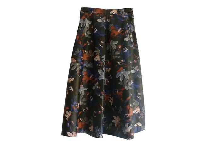 ec7cb6985b Zara Faux leather midi skirt Skirts Other Multiple colors ref.80499 ...