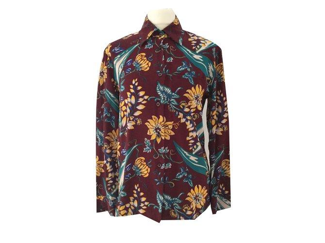 59a3dd45bd1217 Prada Tops Tops Silk Multiple colors ref.80520 - Joli Closet