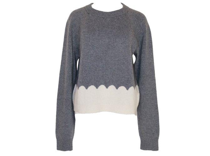 Chloé Knitwear Knitwear Cashmere,Wool Grey ref.80529