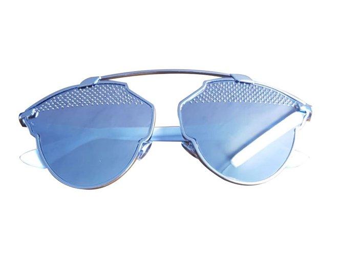 Lunettes Dior Dior diorsoreal-85l (dc) dior so real sunglasses lunettes  Métal Argenté 5bfa5c5da687