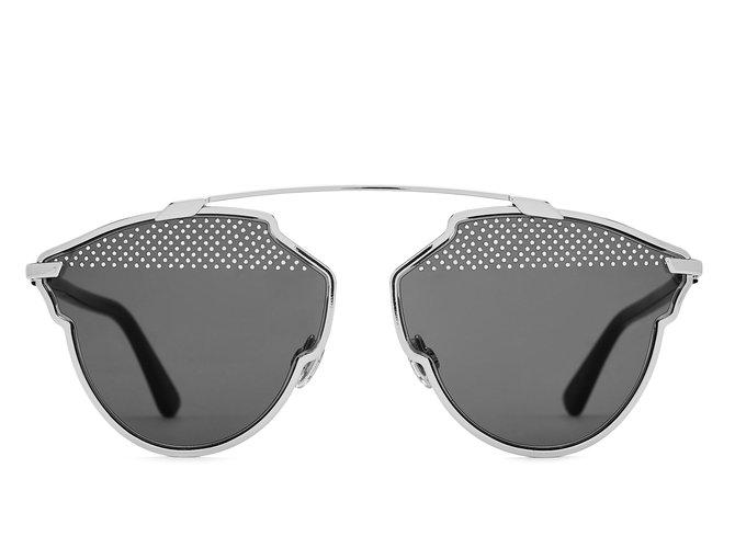 c281376270777e Lunettes Dior Dior so real s 84jnr sunglasses lunettes soreal Métal  Noir,Argenté ref.