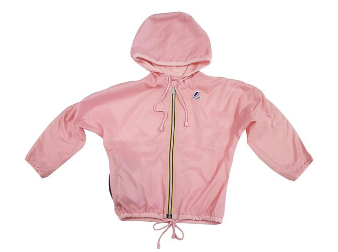 K-Way Girl Coats outerwear Girl Coats outerwear Polyamide Pink ref.80712