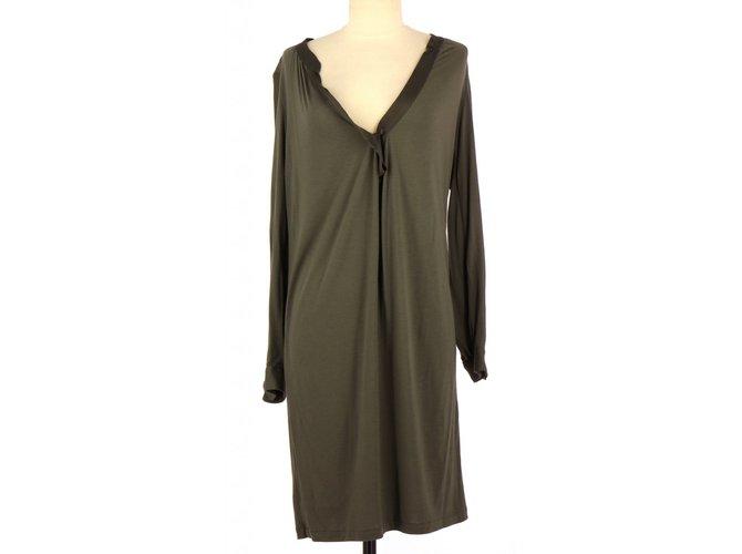 89c1ec6e763d Maje Dress Dresses Viscose Grey ref.81362 - Joli Closet