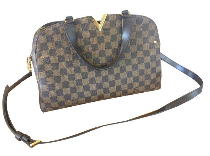 43b53dd852 Sacs à main Louis Vuitton Sacs à main Cuir Marron ref.81180 - Joli ...