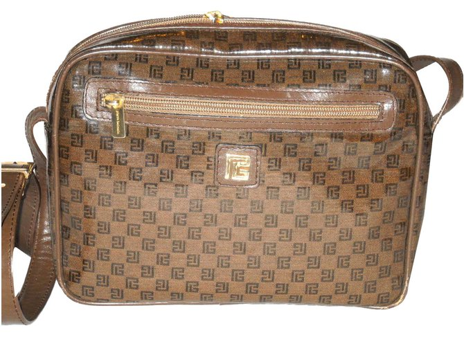 Handbags Leather Cloth Plastic
