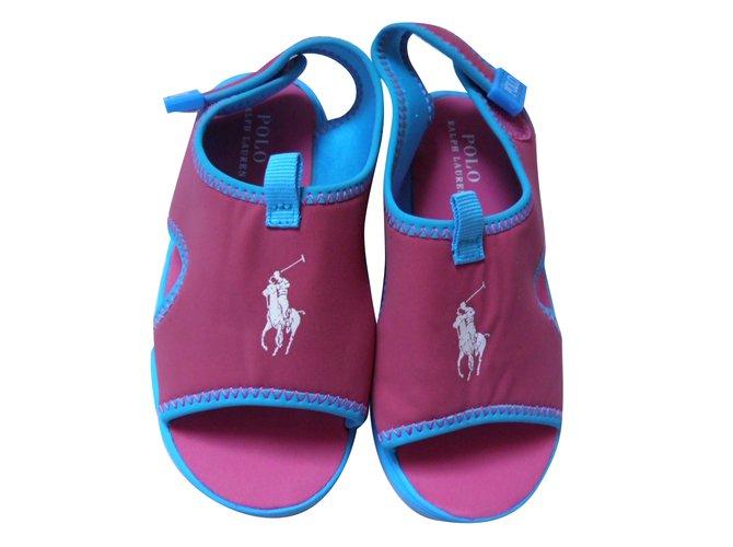 Polo Ralph Lauren Kids Sandals Kids Sandals Other Pink ref.81597