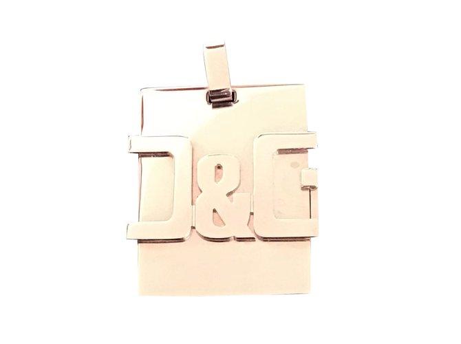 Dolce & Gabbana Pendants Pendant necklaces Steel Silvery ref.82697