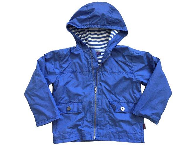 Blousons, manteaux garçon Autre Marque Blousons, manteaux garçon Coton Bleu ref.83025