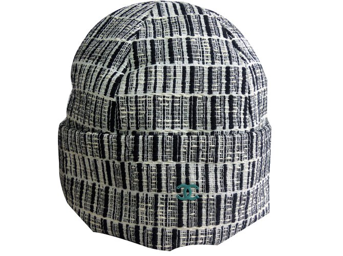 ff03ddfdc7c Chanel hat Hats Tweed Multiple colors ref.83232 - Joli Closet