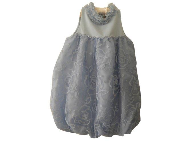 Robes fille Blumarine couture Autre Bleu ref.83283