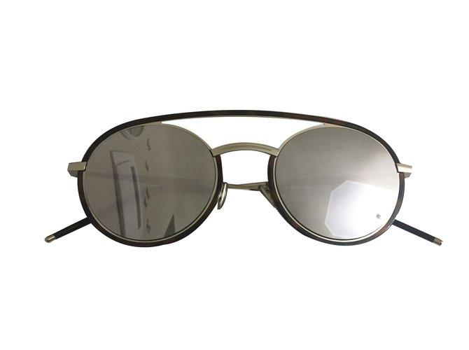 002a5865b33 Christian Dior Sunglasses Sunglasses Metal Silvery ref.83345 - Joli ...
