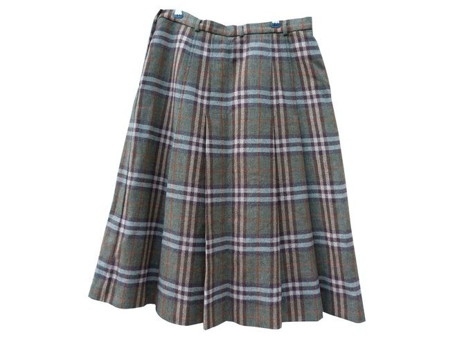Burberry Skirts Skirts Wool Brown,Light brown ref.83352