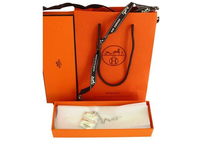 Bijoux de sac Hermès Bijoux de sac Métal Argenté ref.83459