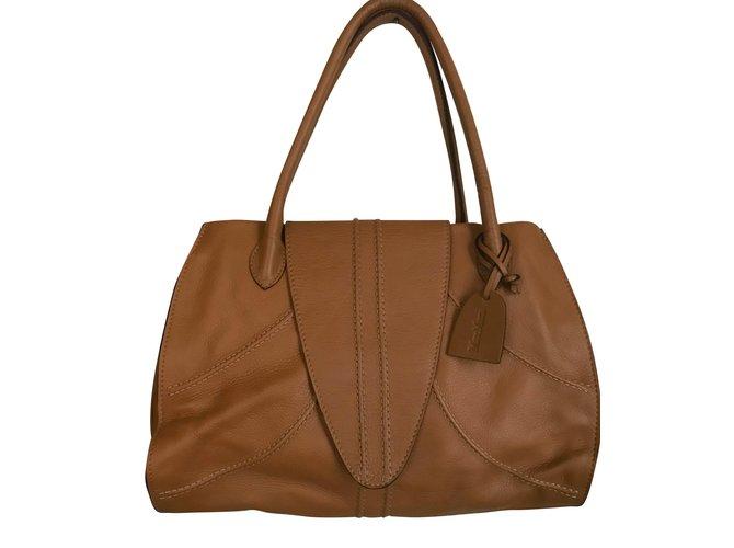 da6866869306 Max Mara Handbags Handbags Leather Caramel ref.83639 - Joli Closet