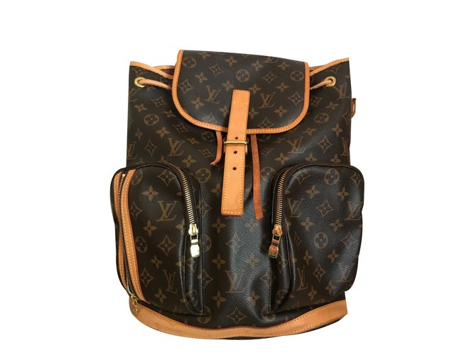 d517abe34f74 Louis Vuitton Bosphore monogram Backpack Backpacks Leather