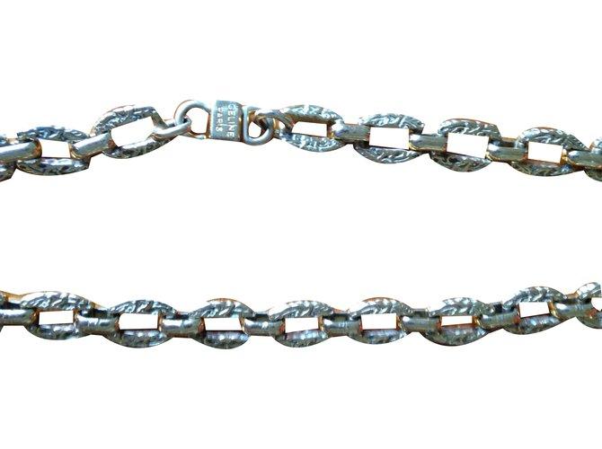 Céline Necklaces Necklaces Metal Golden ref.84063