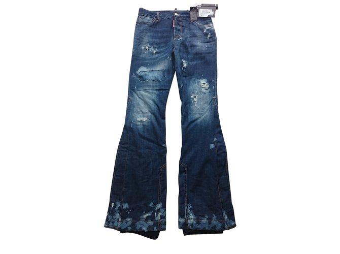 Jeans Dsquared2 Jeans Jean Bleu ref.84370