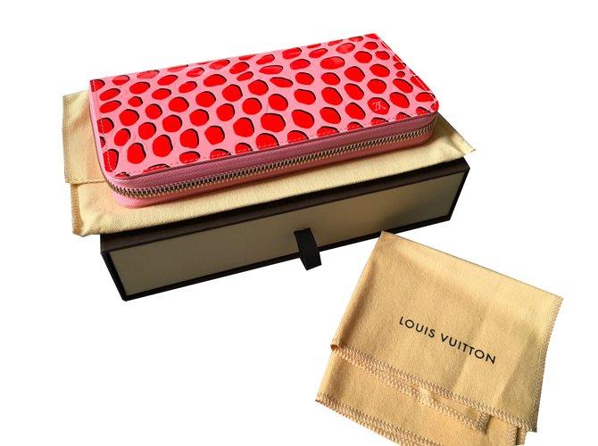 dff65c8a81e4 Portefeuilles Louis Vuitton Zippy wallet jungle Cuir vernis Multicolore  ref.84552
