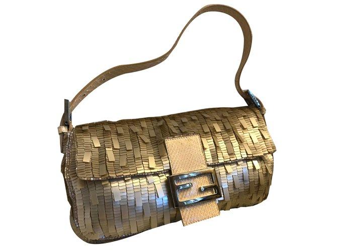 ce9773614ec Fendi Baguette Handbags Other Golden ref.84622 - Joli Closet