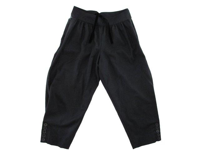 Chloé Pants Pants, leggings Cashmere,Wool Black ref.84677