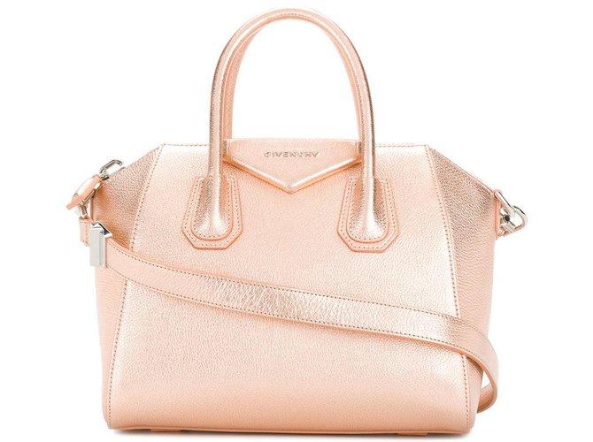 5bf9f5dfab0 Givenchy Antigona Handbags Leather Pink ref.84871 - Joli Closet