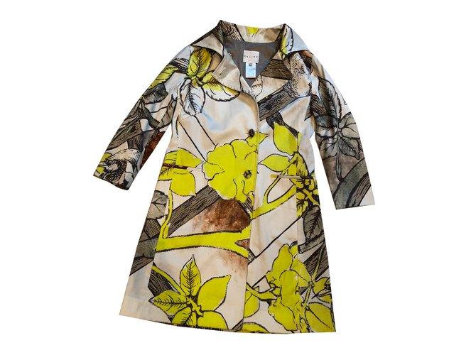 Céline trench Trench coats Cotton Multiple colors ref.84882