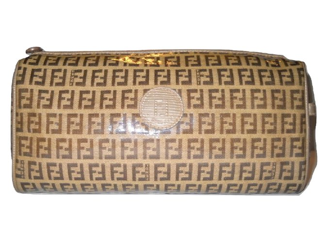 d41f978731a7 Fendi Toiletry bag Wallets Small accessories Leather