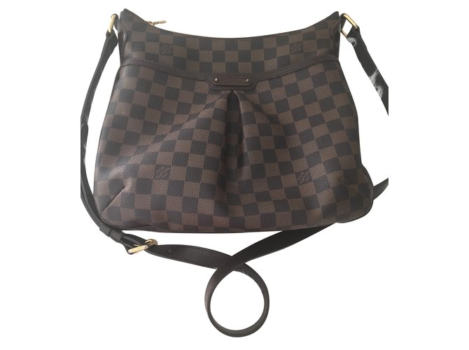 Louis Vuitton Bloomsbury PM Damier Handbags Leather Brown ref.85210 ... 9e5f61f1c