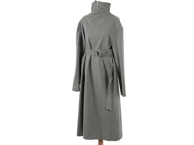 Céline Dresses Dresses Wool Grey ref.85216