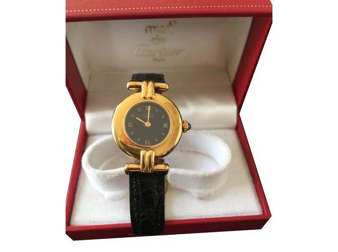 Cartier watch Fine watches Gold-plated Golden ref.85294